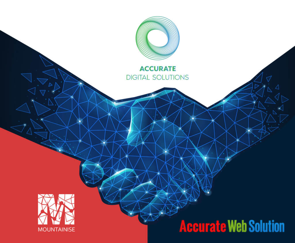 Accurate Web Solution and Mountainise Inc partnership